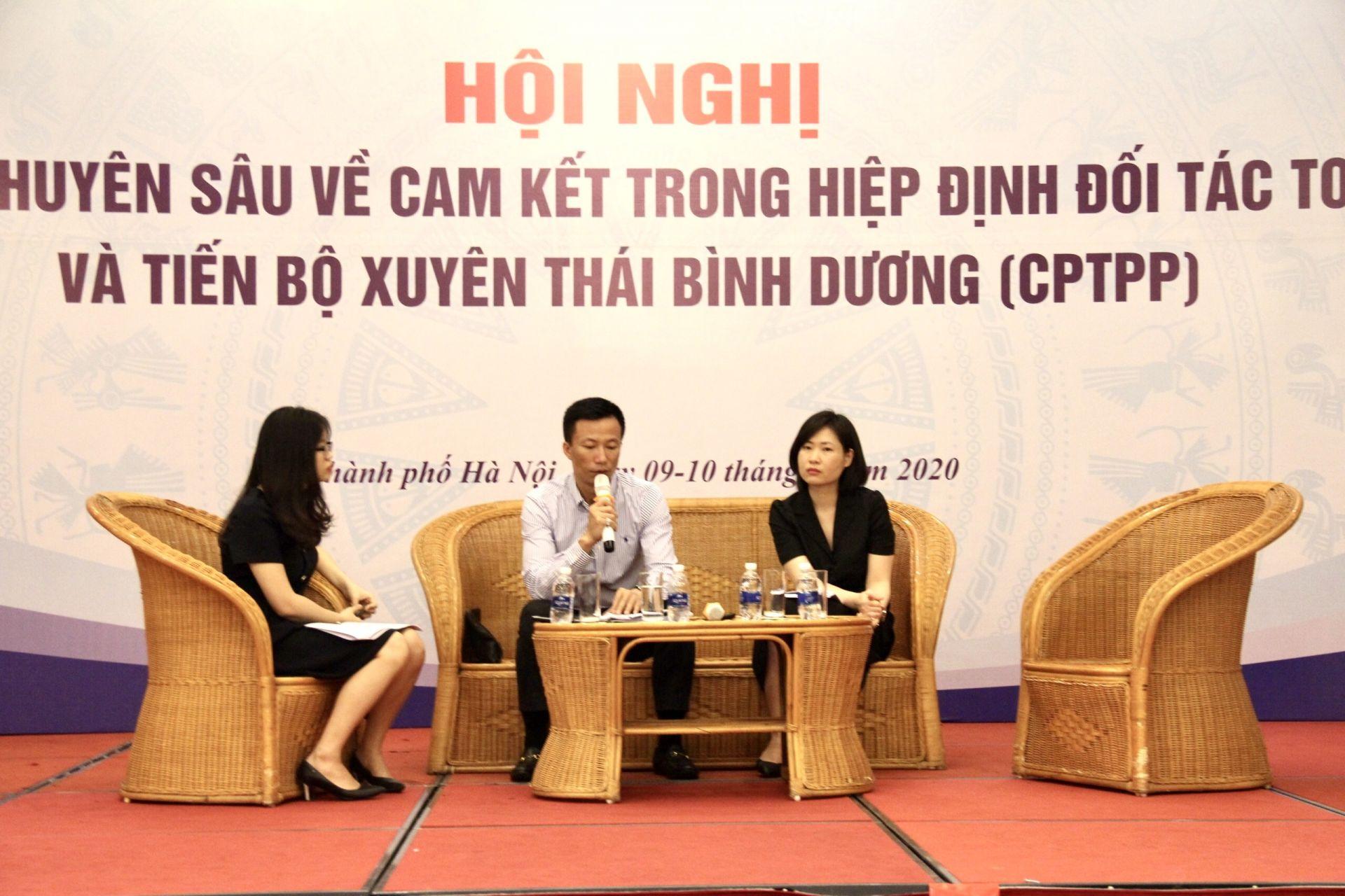 tập huấn chuyên sâu về Hiệp định CPTPP