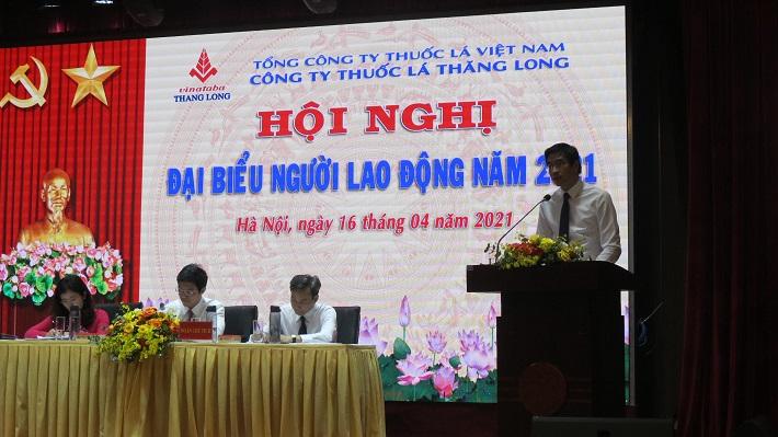ông Nghiêm Xuân Toàn - phó tổng Giám đốc Tổng công ty Thuốc lá Việt
