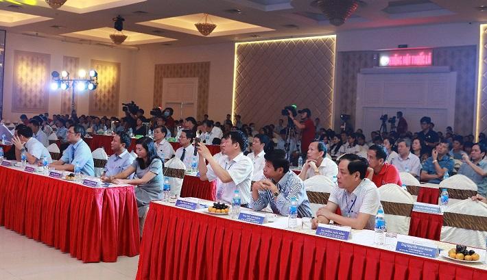 Hình ảnh hội trường tổ chức Hội diễn văn nghệ tại TP Pleiku- Gia Lai