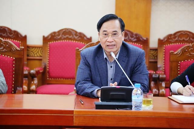 Ông Vũ Đức Giang, Chủ tịch Hiệp hội Dệt May Việt Nam