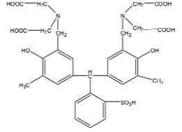 Cấu trúc hóa học của Xylen da cam
